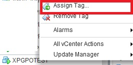 assign tag